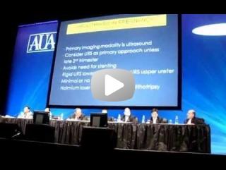 Dr. Marco Fortes - Representante do Brasil no Fórum Mundial de Cálculos Urinários - Congresso da Associação Americana de Urologia em Chicago no ano de 2009